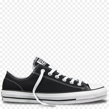 black low top converse