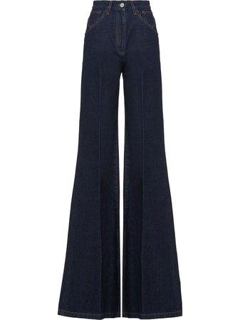 Prada high-waisted Flared Jeans - Farfetch