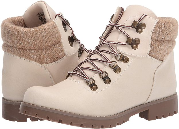 Amazon.com | CLIFFS BY WHITE MOUNTAIN Shoes Pathfield Women's Lace-up Hiker Style Bootie | Hiking Boots