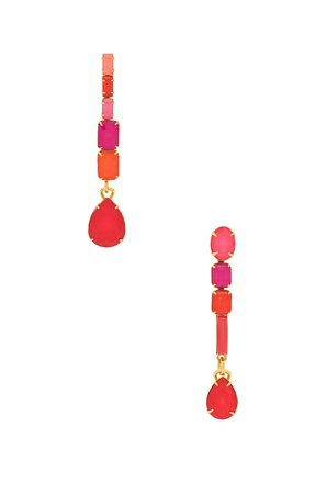 Tiered Dangle Earrings