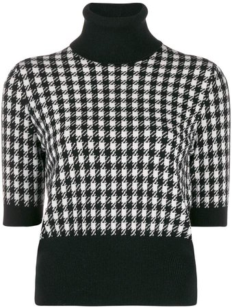 cashmere Houndstooth top