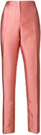 tailored metallic trousers