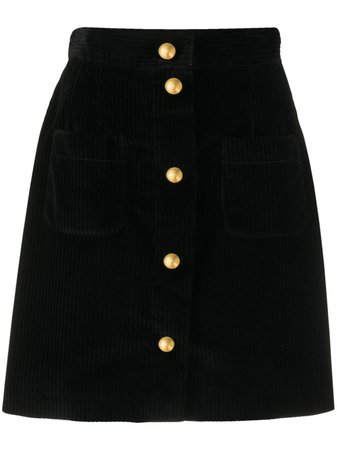 Dolce & Gabbana Corduroy straight-fit Skirt - Farfetch