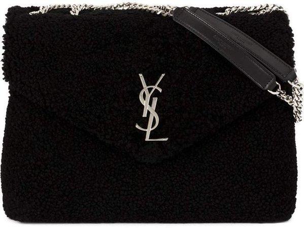 front logo crossbody bag