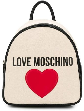 heart patch backpack