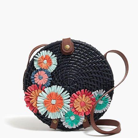 Straw floral circle crossbody bag : FactoryWomen Bags | Factory