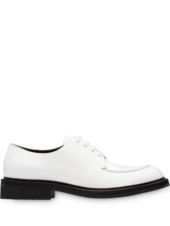 Prada dual-tone Derby Shoes - Farfetch