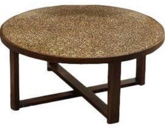 leopard skin coffee table