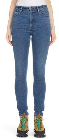 Peg High Waist Skinny Jeans
