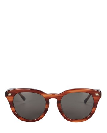 Le Specs Luxe Over & Over Round Sunglasses | INTERMIX®