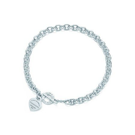 Return to Tiffany® heart tag toggle necklace in sterling silver. | Tiffany & Co.