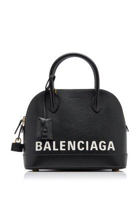 Ville Small Logo Leather Top Handle Bag By Balenciaga | Moda Operandi