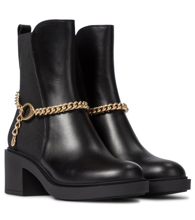 Leather Ankle Boots   Gianvito Rossi - Mytheresa