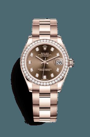 Rolex Datejust 31 Watch: 18 ct Everose gold - M278285RBR-0012