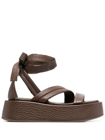 Marsèll tie-fastening Platform Sandals - Farfetch