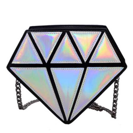 Diamond Shaped Purse