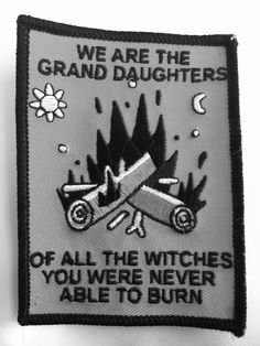 witches patch