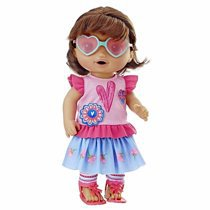 Baby Alive So Many Styles Baby (Brown Straight Hair) - Walmart.com