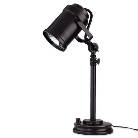 LED Adjustable Desk Lamp with Studio Shade in Oil Rubbed Bronze   Bed Bath & Beyond