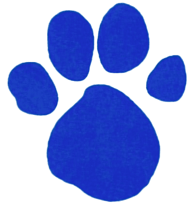 Blue Pawprint