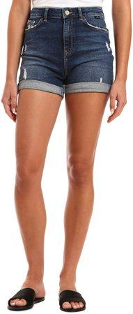 Ella Distressed Denim Shorts