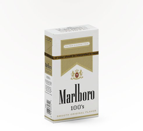Marlboro – Gold 100's Delivered Near You   Saucey