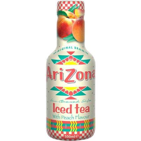 Arizona Ice Tea With Peach 500ml | Woolworths