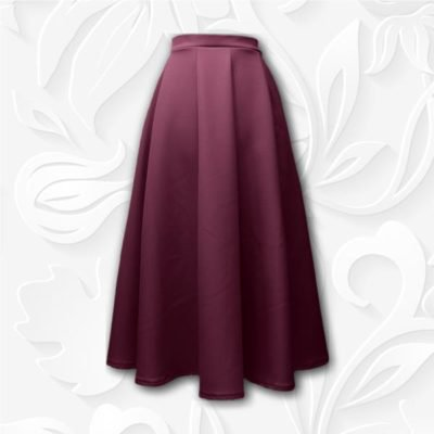 Modest Ten Panel Skirt Aline Tznius