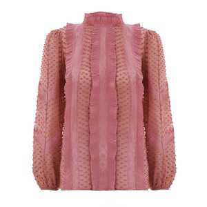 Zimmermann Unbridled Spliced Blouse