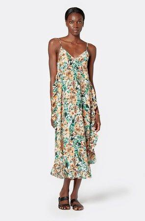 Hayworth Midi Silk Dress