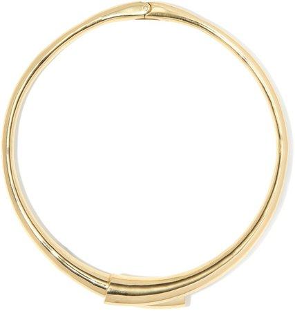 Goldtone Collar
