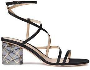 Raso 60 Embellished Satin Sandals