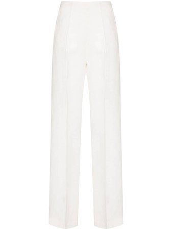 Materiel wide-leg Tailored Trousers