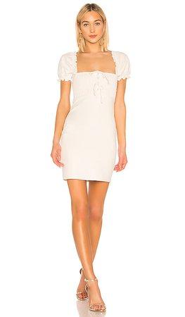 ASTR the Label Nina Dress in Off White   REVOLVE