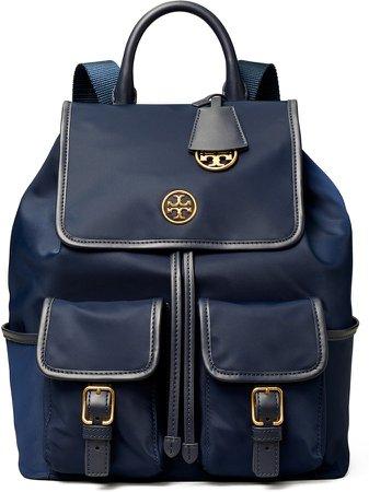 Piper Flap Nylon Backpack