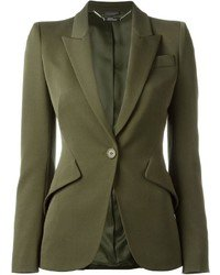 How to Wear an Olive Blazer For Women (24 looks & outfits) | Women's Fashion | Lookastic.com