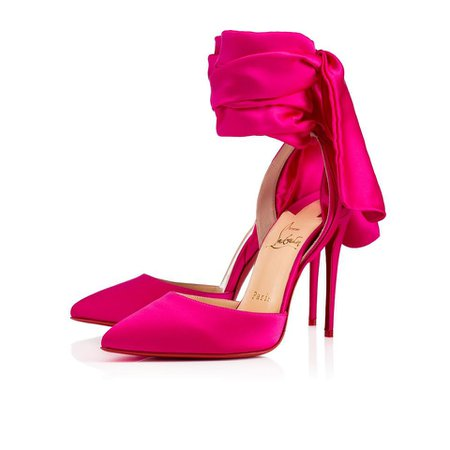 Christian Louboutin Hot Pink Douce De Desert Pumps Size EU 39 (Approx. US 9) Regular (M, B) - Tradesy