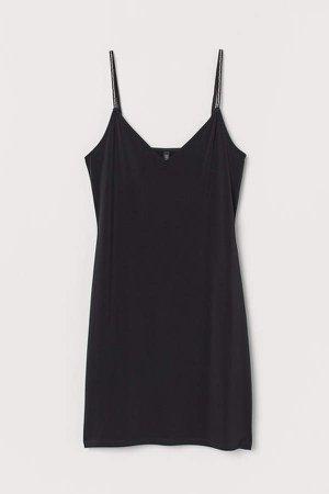 Short Dress - Black