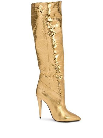 Saint Laurent Abbey boots $3,000 - Buy Online SS19 - Quick Shipping, Price
