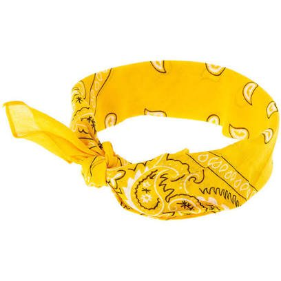 yellow bandana - Google Search