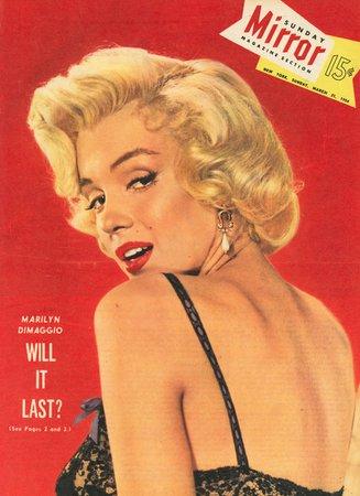 Marilyn Monroe on magazine