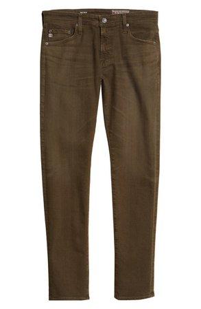 AG Tellis Slim Fit Jeans (7 Years Sulfur Blue Lake) | Nordstrom