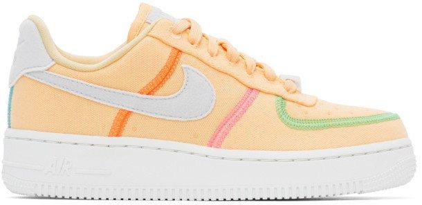 Orange Air Force 1 07 LX Sneakers