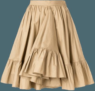 brown png skirt