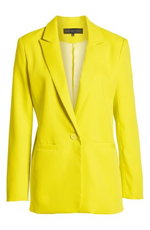 Endless Rose Tailored Single Button Blazer | Nordstrom