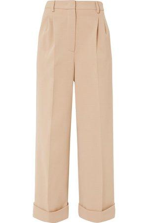 Fendi | Cropped jersey wide-leg pants | NET-A-PORTER.COM