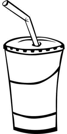Cup Lid Straw - Free vector graphic on Pixabay