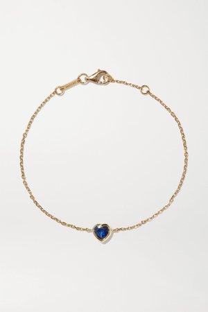 Gold 18-karat gold sapphire bracelet | Anita Ko | NET-A-PORTER