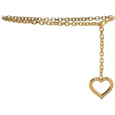 Alessandra Rich Heart Chain Belt