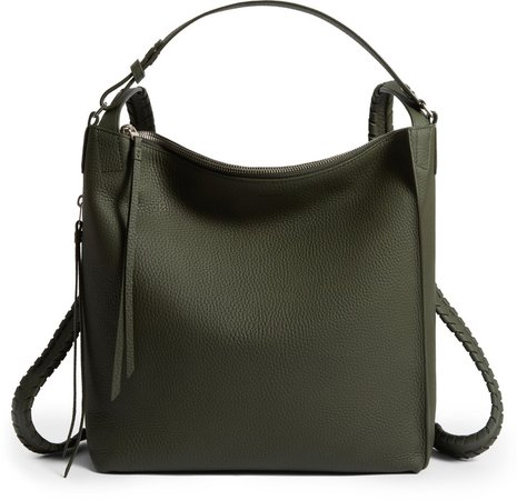 Small Kita Convertible Leather Backpack